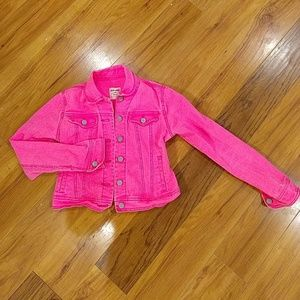 Old Navy girls large pink jacket
